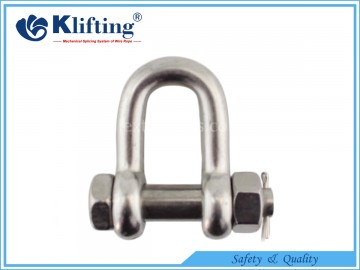 US Type D Shackle  with Security Pin