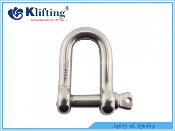 Euro Type  Large Dee Shackle